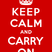 Keep calm and carry on: The story behind
